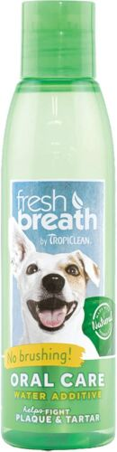 Pet Fresh Breath Oral Care for Cat & Dog Water Additive Clean Teeth,No Brushing