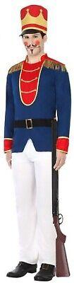 Herren Spielzeug Soldat Nussknacker Weihnachten Kostüm Kleid Outfit M-XL