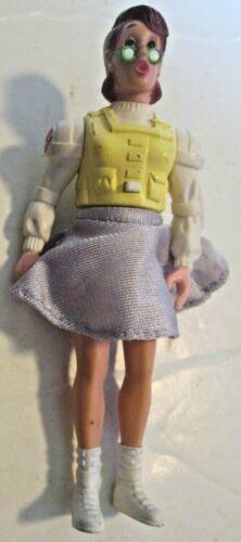 """Vintage Real GHOSTBUSTERS Screaming Heroes Janine Melnitz Figure 5"""", 1986 Kenner"""