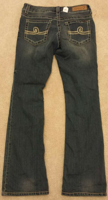 SEVEN FOR ALL MANKIND womens 6 boot cut blue jeans  7FAM