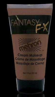 Wolfman Make Up (Mehron Fantasy FX Brown makeup water based Wolfman werewolf cream face paint )