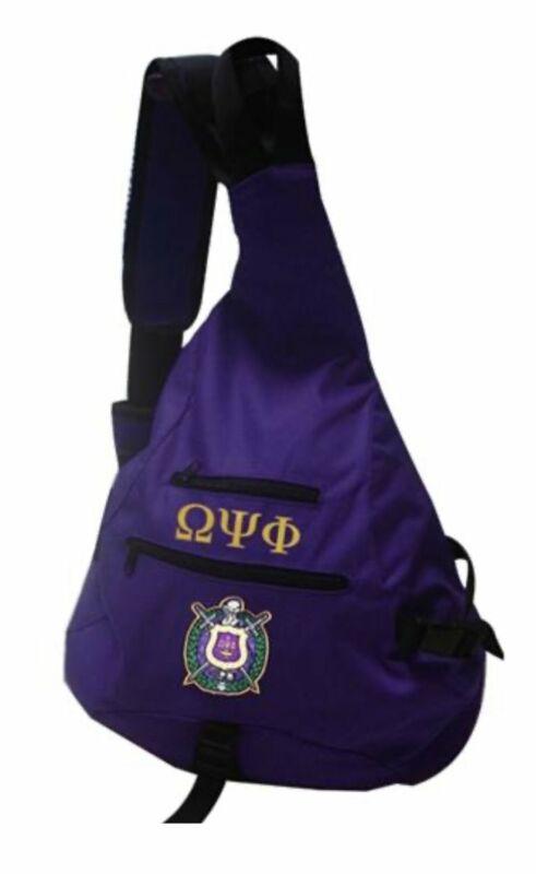 Omega Psi Phi - Sling Backpack