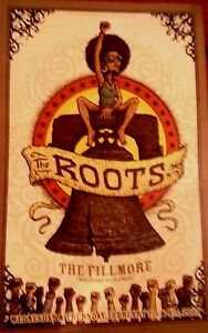 The ROOTS FILLMORE POSTER Original Bill Graham F840 Marq Spusta