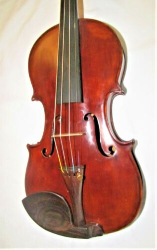 Old French violin labeled MARC LABERTE