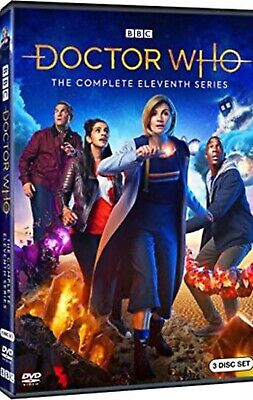 Doctor Who: The Complete Eleventh Series Season 11 (3 DVD Disc Set) New & Sealed