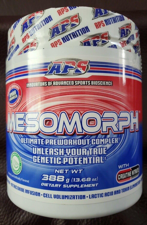 APS MESOMORPH PRE-WORKOUT 25 servings OG Formula WATERMELON