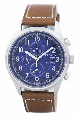 Citizen Eco-Drive Men's Chronograph Date Indicator 42mm Watch CA0621-05L