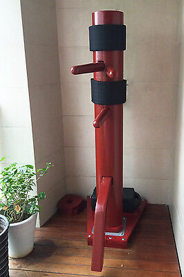 Summer Sales - Brand New Traditional Wing Chun Wooden Dummy with Wooden Base