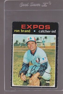 1971 TOPPS BASEBALL # 304 RON BRAND  EX+ OR