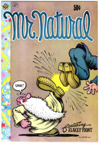 MR.NATURAL #1, 1st Print, Comix, Robert Crumb, 1970, UNDERGROUND COMIC