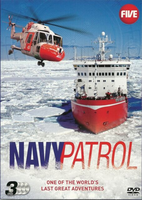 NAVY PATROL - ONE OF THE WORLD'S LAST GREAT ADVENTURES - 3 DVD BOX SET