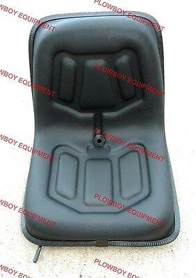Tractor Lawn Garden Seat W Slide Tracks For Kubota Lgs100bl Metal Seat Pan