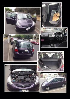 2008 Honda Jazz auto low km, include RWC, urgent for sale  South Yarra Stonnington Area Preview