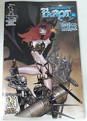 TAROT WITCH OF THE BLACK ROSE #121 JIM BALENT VARIANT. ADULT CONTENT. NM.
