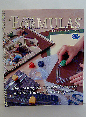 Creative Memories Fast Formulas Fifth 5th Edition Excellent Condition
