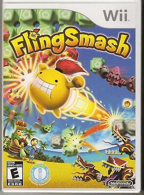 FlingSmash Nintendo Wii, 2010 New Sealed  - $5.99
