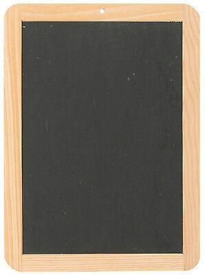 große Schiefertafel 29,5 x 22 cm Schreibtafel Tafel g