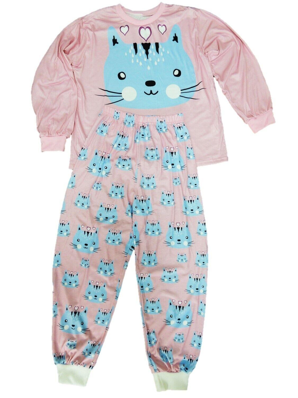 0be0fb4cb3 Mädchen Schlafanzug Pyjama Größe 140 146 152 158 164 170 176 182 188 Extra  Breit*