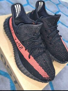 Adidas Yeezy 350 Boost V2 Core Black Red
