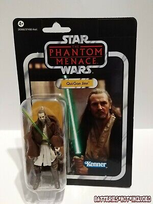 Star Wars The Vintage Collection VC75 QUI-GON JINN Hasbro 2012 Phantom Menace