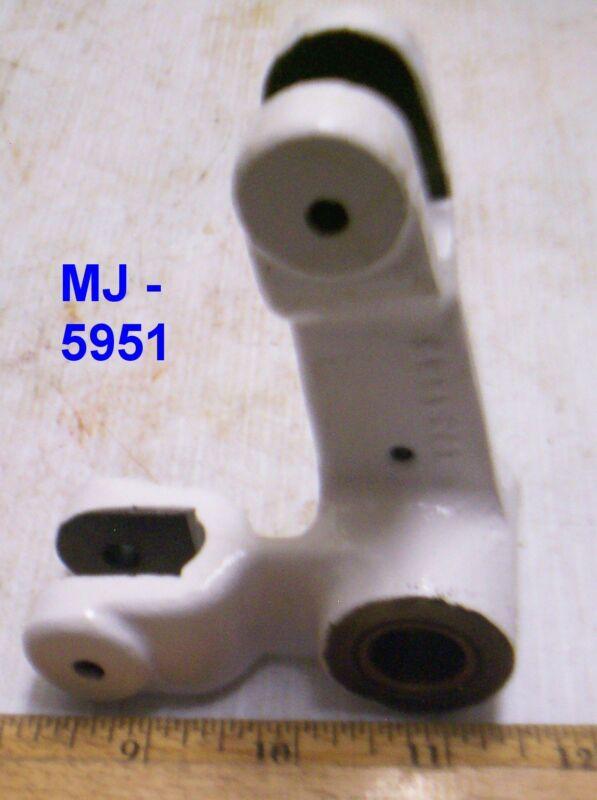 Angle Bracket or Linkage Bracket with Brass Bushing (NOS)