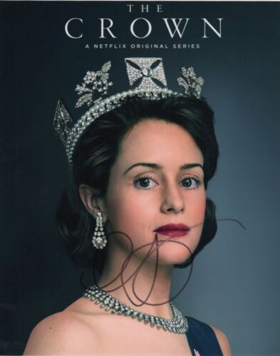 Claire Foy The Crown Autographed Signed 8x10 Photo COA #O22