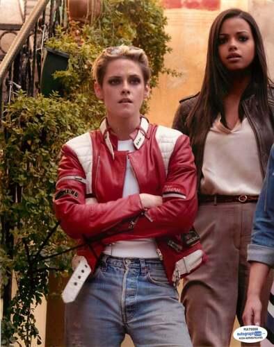 Kristen Stewart Signed Charlie's Angels 8x10 Photo Proof ACOA COA B