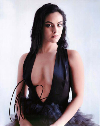 *SEXY* Camila Mendes Signed Riverdale 8x10 Photo A Proof COA