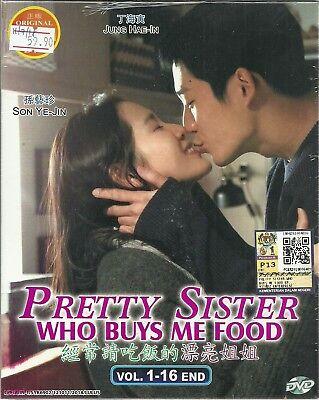 PRETTY SISTER WHO BUYS ME FOOD - COMPLETE KOREAN TV SERIES DVD ( 1-16 EPS)