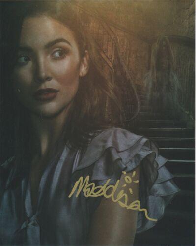 Maddison Jaizani Nancy Drew Autographed Signed 8x10 Photo COA 2020-5