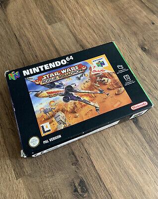 Star Wars Rogue Squadron / Nintendo 64 N64 PAL