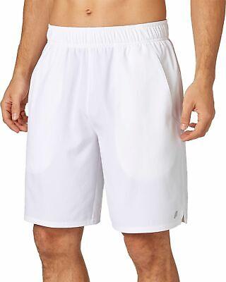 Prince Men's Match Woven Shorts, WHITE,SIZE:L Prince Shorts