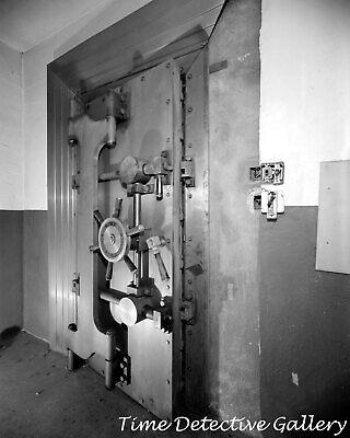 Bank Vault, Travis Air Force Base, Fairfield, California - Vintage Photo Print
