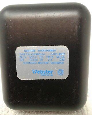 Webster Ignition Transformer Type 312-24 Ab0114. Code G98y