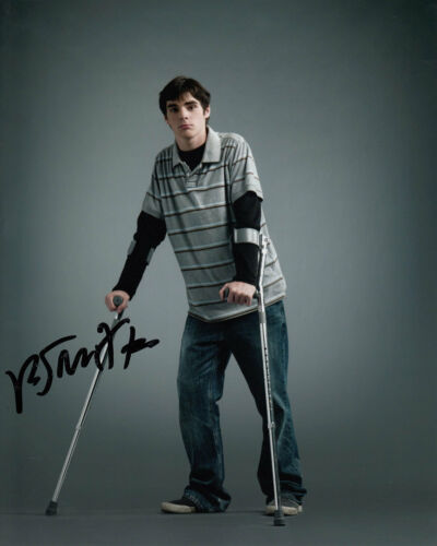 RJ MITTE SIGNED BREAKING BAD 10X8 PHOTO AFTAL & UACC OBTAINED IN PERSON [14985]