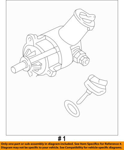 ford oem 1994-2004 mustang-power steering pump f1zz3a674bbrm