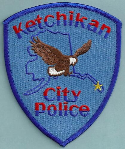 KETCHIKAN ALASKA POLICE SHOULDER PATCH