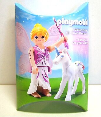 Playmobil Messe Give away Figur Fee mit Einhorn, in Box