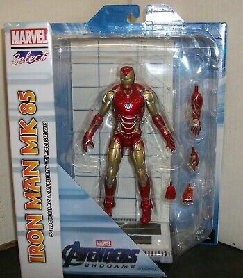 IRON MAN MK 85 MARVEL SELECT ACTION FIGURE - DIAMOND SELECT TOYS/2020 for sale  Shipping to India