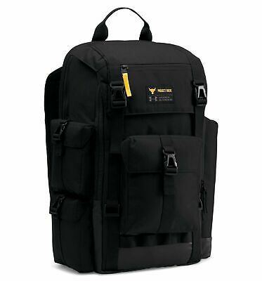Under Armour x Project Rock Regiment Backpack Black  1353719 1286071-001