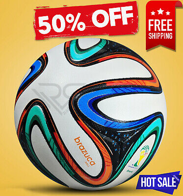 BRAZUCA BALL WORLD CUP 2014 BRAZIL SOCCER BALL [SIZE 5] BY - Rampage Sports