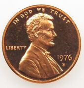 Proof 1976-S Lincoln Cent