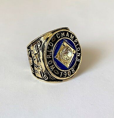 Chicago Cubs 1908 World Series Replica Ring