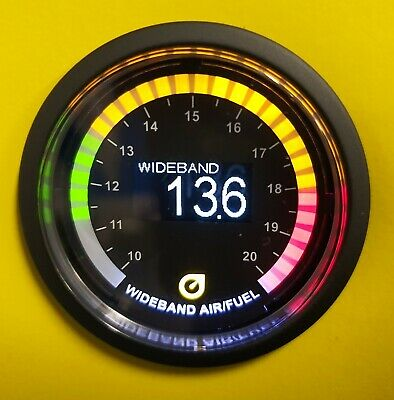 AUTO GAUGE 52mm OLED Wideband AFR Air Fuel Ratio Kit