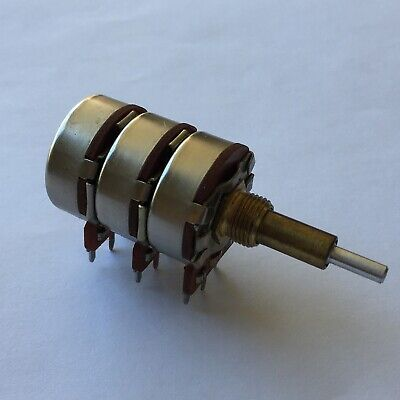 Cts 15-13227 I5-13227 Triple-gang Rotary Potentiometer