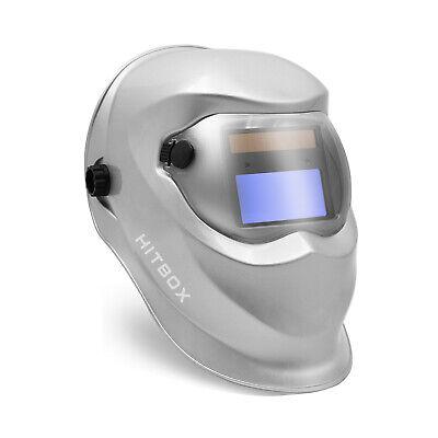 Hitbox Adjustable Auto Darkening Hood Mig Arc Welding Helmet Mask Manual Knob