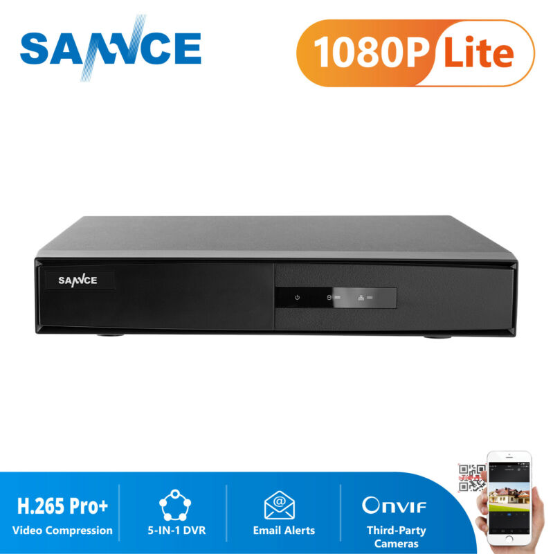SANNCE 16CH 5IN1 1080P HDMI Digital Video Recorder DVR for Home Security System