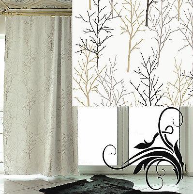 deko schal verdunkelungsvorhang verdunklungsstoff. Black Bedroom Furniture Sets. Home Design Ideas