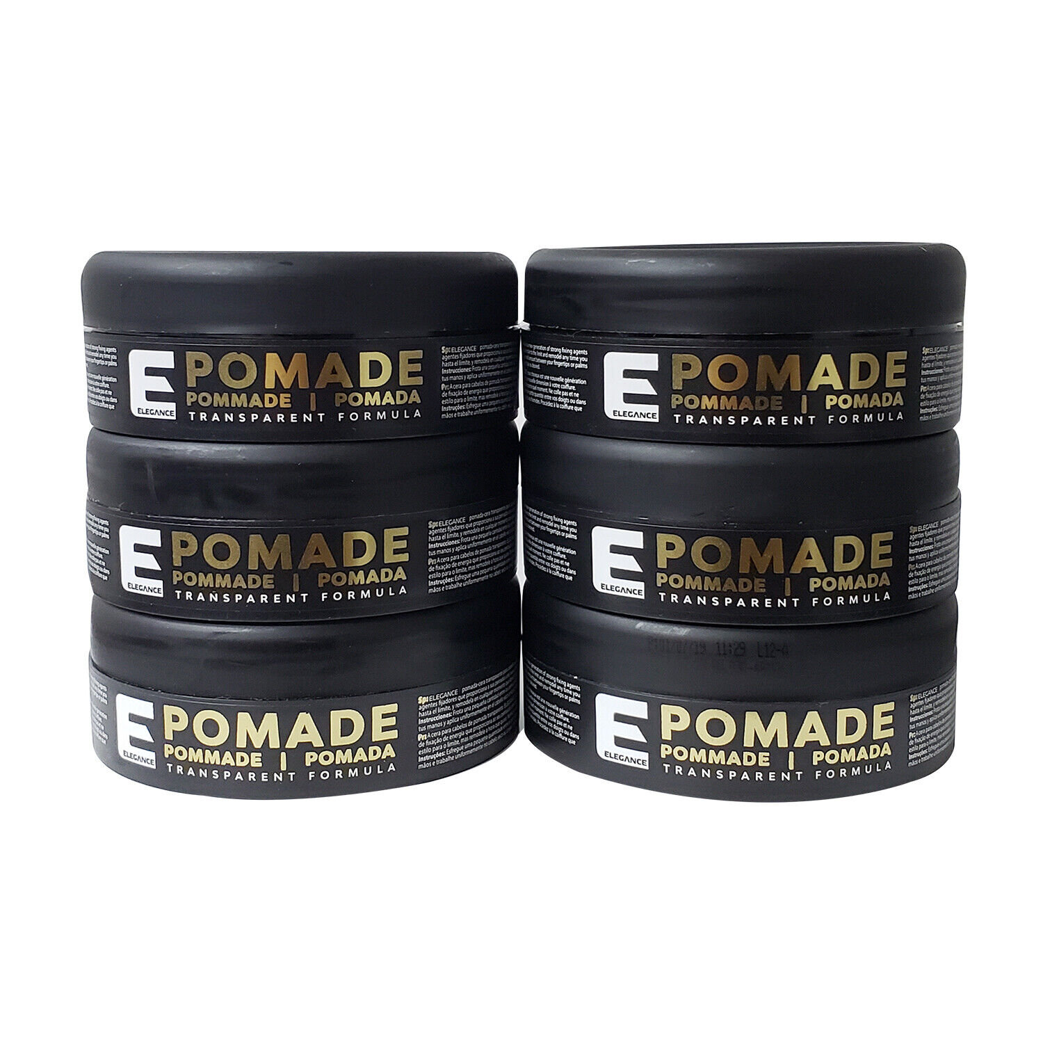 Elegance Transparent Pomade Hair Wax 6 Pack (FREE SHIPPING!!!) Hair Care & Styling