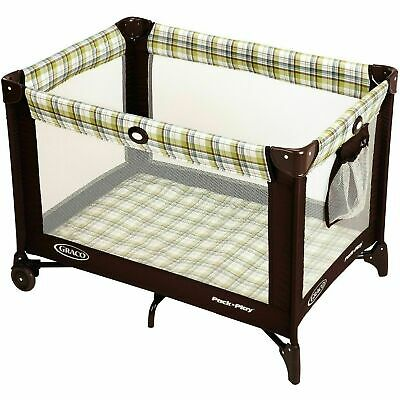 Graco Pack n Play Travel Portable Playard Baby on Go Playpen Ashford *BRAND NEW*
